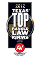 2012 Texas Top Rated Law Firms